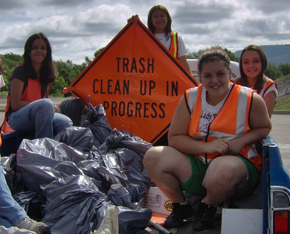 DWI Taskforce participated in a cleanup