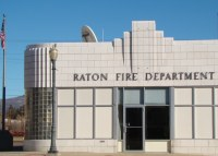 Art Deco Exterior of the Fire Station